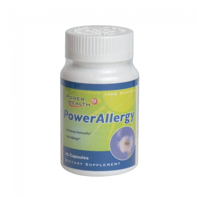 Power Allergy 45 Capsules (Buy 6 get 3 FREE)